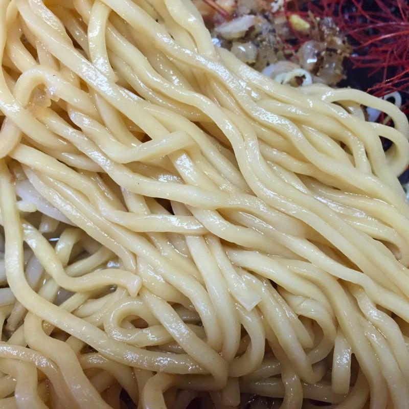 麺屋 鼓志 秋田県由利本荘市石脇 豚っ玉ネギラーメン 麺