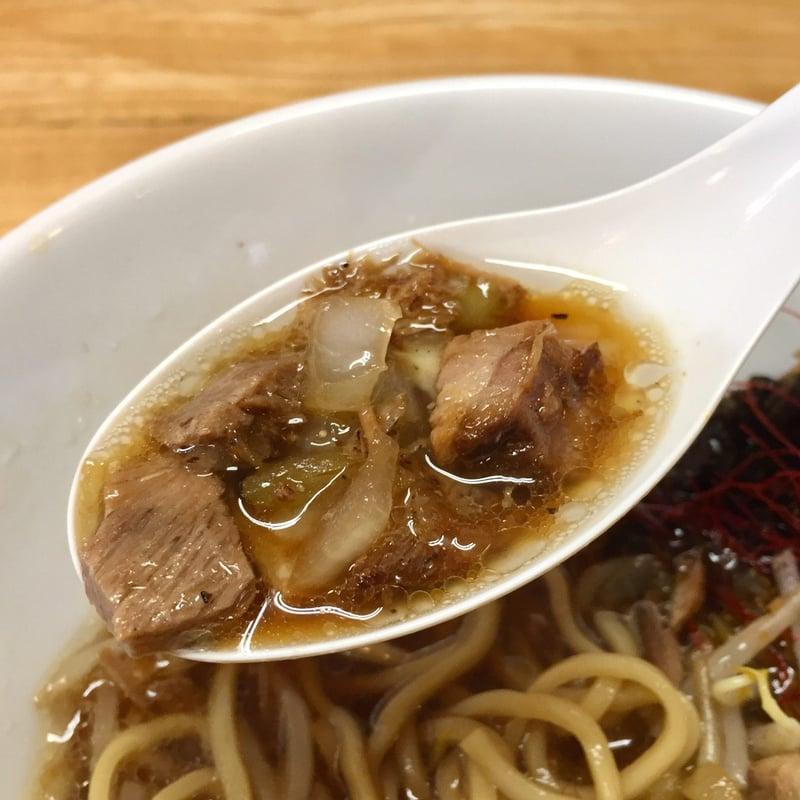 麺屋 鼓志 秋田県由利本荘市石脇 豚っ玉ネギラーメン スープ