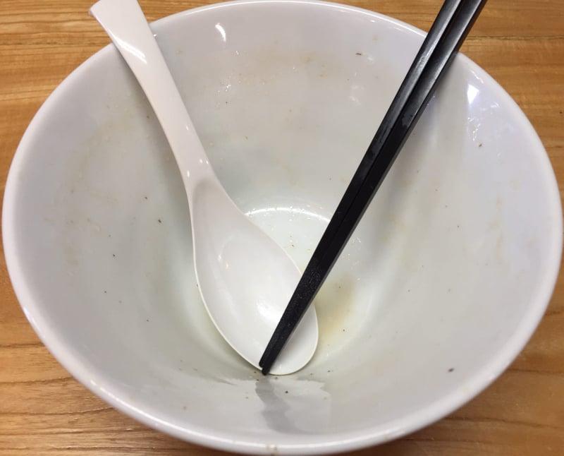 麺屋 鼓志 秋田県由利本荘市石脇 豚っ玉ネギラーメン 完食