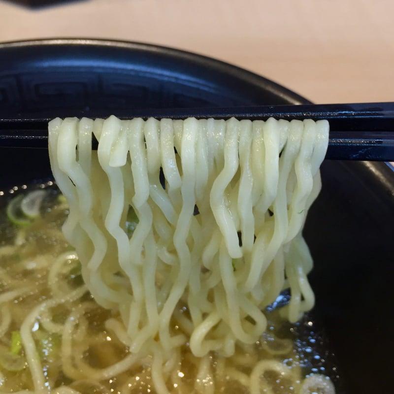 麺屋 新月 秋田県由利本荘市薬師堂 海老ワンタンメン 塩ラーメン 麺