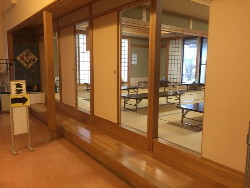 軽食・喫茶 さくら 秋田県由利本荘市川 西滝沢水辺プラザ内 食堂外観