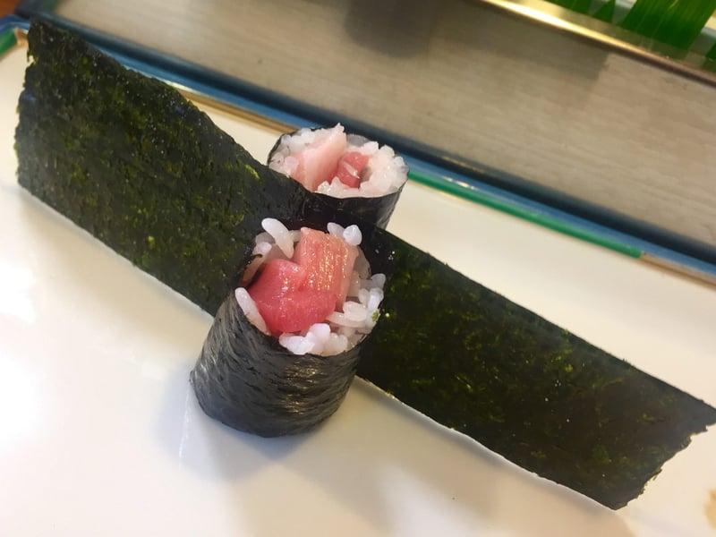 大寿司 だいずし 岩手県宮古市西町 お任せ握り トロとネギの塩海苔巻き