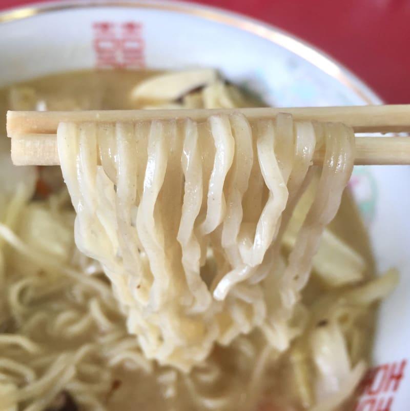 精養軒 倉内店 秋田県湯沢市倉内 とん汁ラーメン 豚汁ラーメン 麺