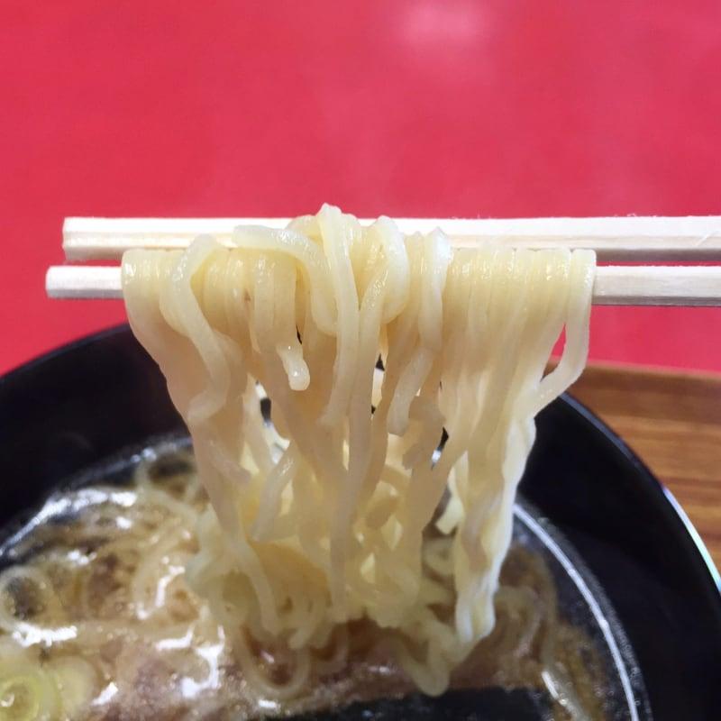 熊谷商店 駅前食堂 秋田県由利本荘市東鮎川 半ラーメンおにぎりセット 醤油ラーメン 麺