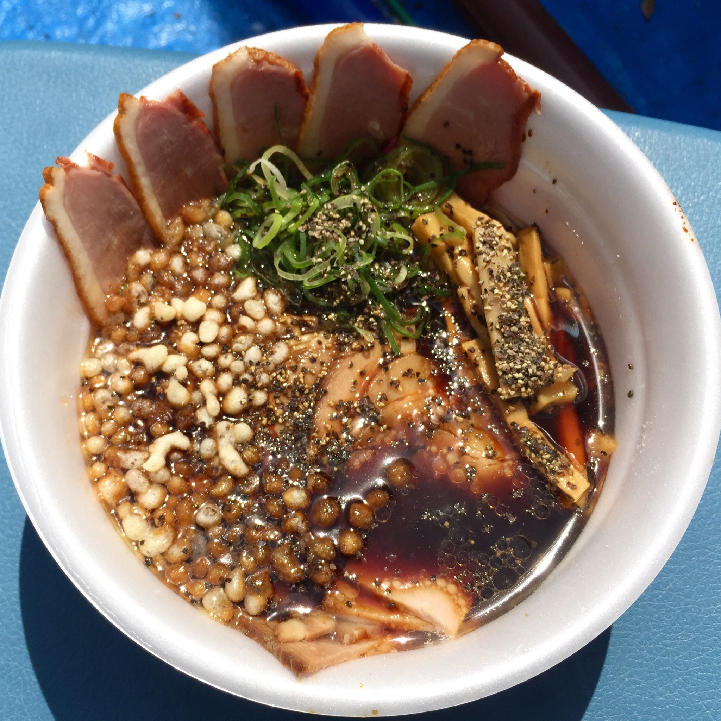 楽天生命パーク 麺まつり2019 仙台市青葉区大町 麺バル プライド 富山県 俺のブラックチャーシュー麺