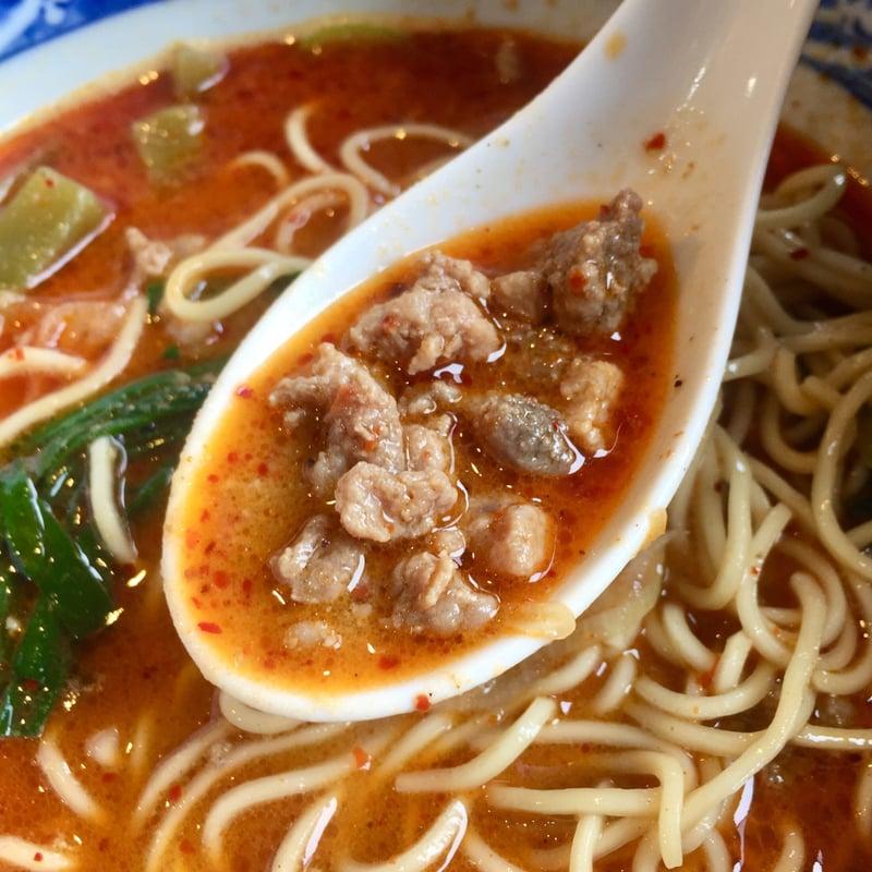 麺屋 八 宮城県名取市増田 痺辛 担々麺 スープ 挽き肉