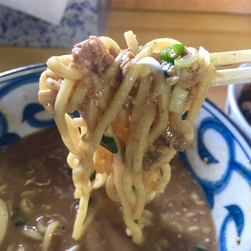 らーめん萬亀 ばんき 秋田県秋田市山王新町 坦々麺 ブレンド味噌 自家製麺
