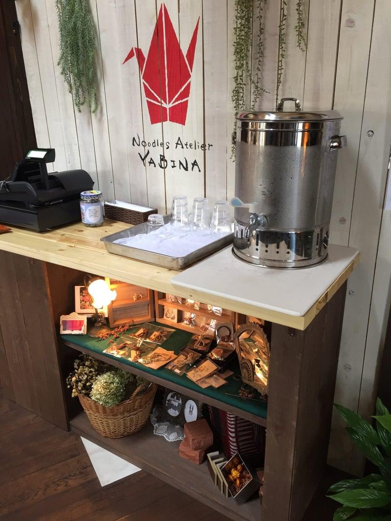 Noodle Atelier 麺工房 やびな 秋田県能代市下内崎 店内