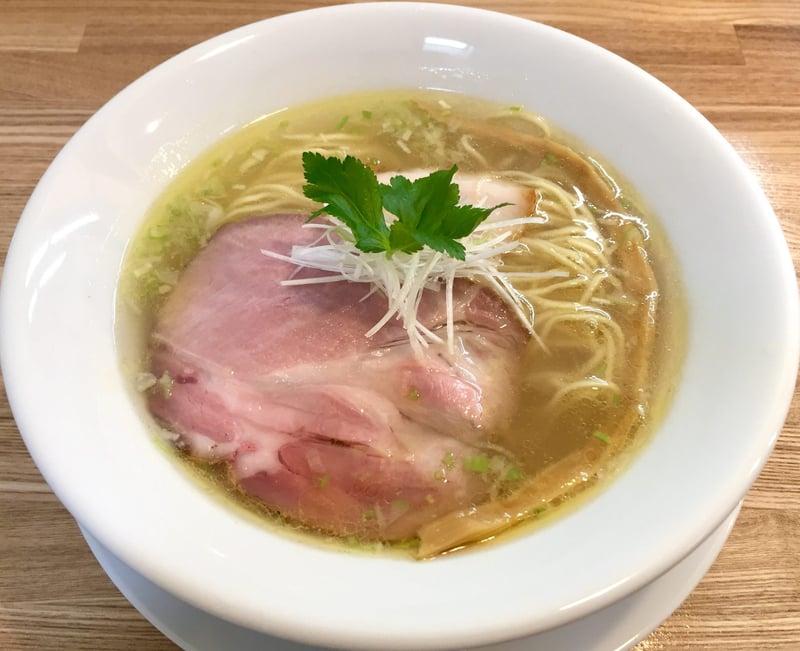 Noodle Atelier 麺工房 やびな 秋田県能代市下内崎 塩soba 塩ラーメン