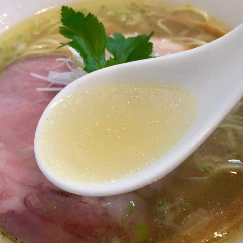 Noodle Atelier 麺工房 やびな 秋田県能代市下内崎 塩soba 塩ラーメン スープ