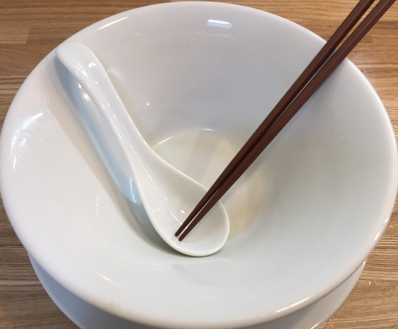 Noodle Atelier 麺工房 やびな 秋田県能代市下内崎 塩soba 塩ラーメン 完食