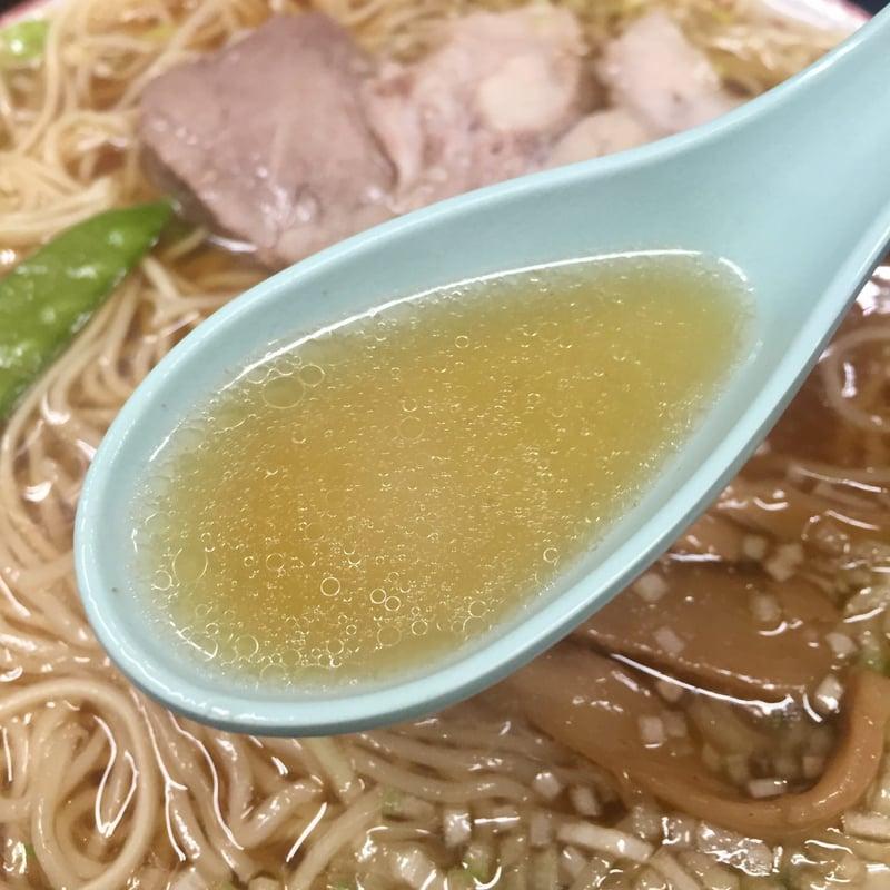 中華そば みずさわ屋 宮城県仙台市青葉区栗生 中華そばのスープ