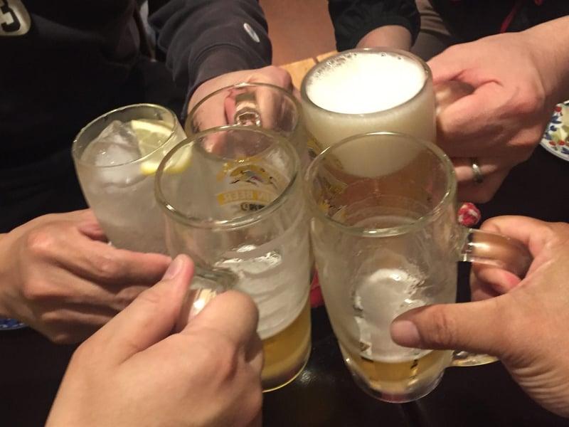 三井農場直営 焼き鳥 ととこ 山形県鶴岡市泉町 生ビール 乾杯