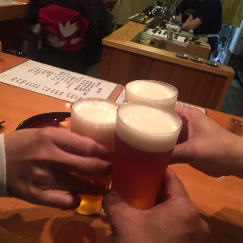 日本料理たかむら 秋田県秋田市大町 生ビール ガージェリーエステラ 乾杯