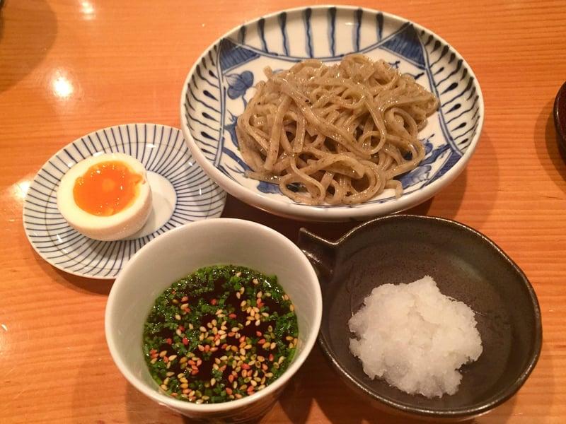 日本料理たかむら 秋田県秋田市大町 たかむら麺 半割り味玉 大根おろし
