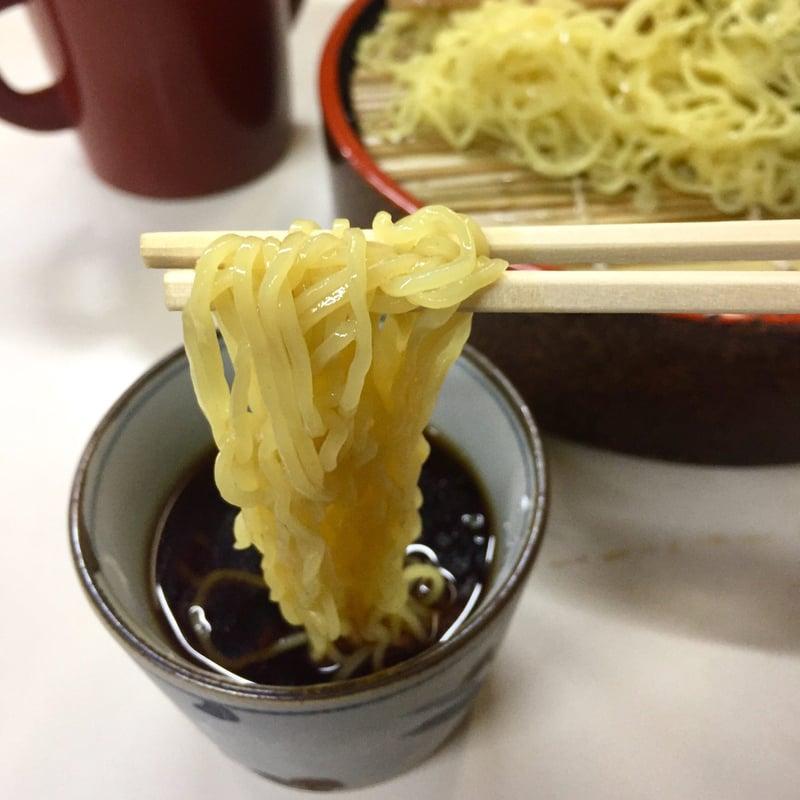 そば処 紀文 秋田県秋田市大町 ざる中華 麺