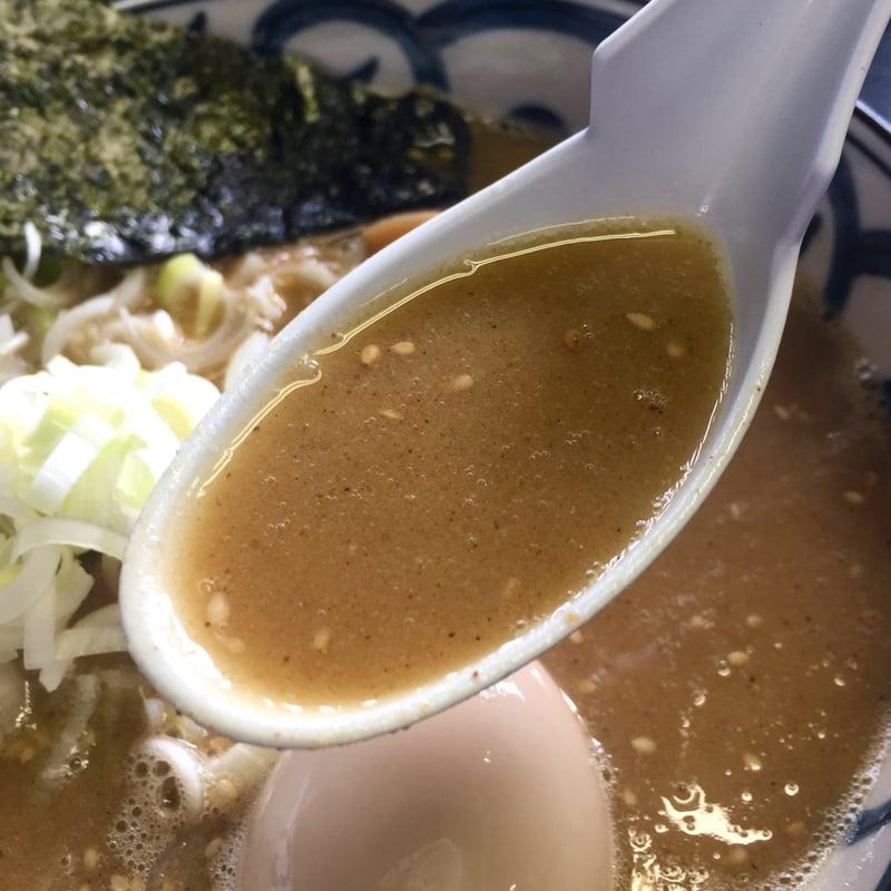 らーめん萬亀 ばんき 秋田県秋田市山王新町 濃厚味噌 味噌ラーメン スープ