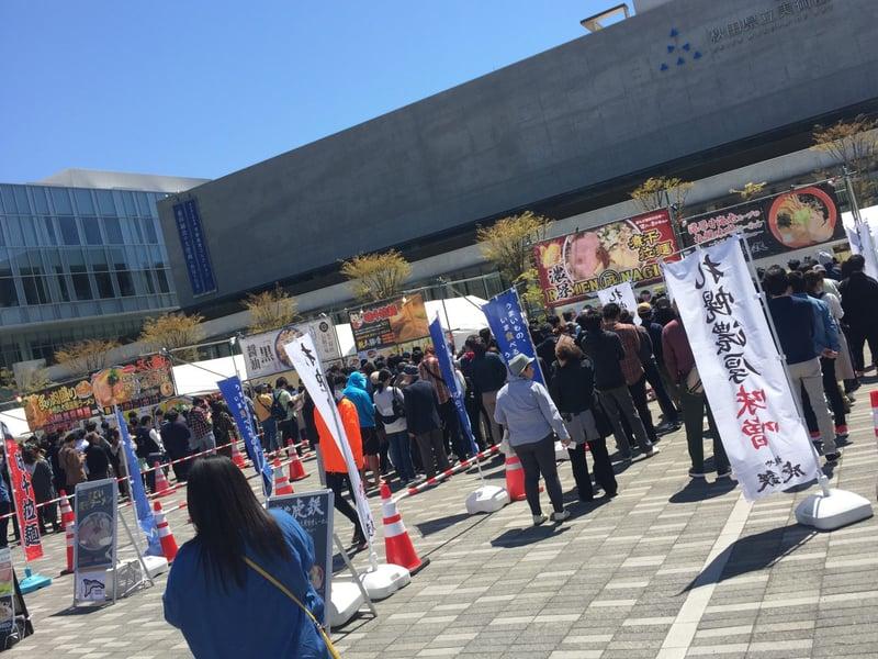 あきたラーメンフェスタ2019 in エリアなかいち にぎわい広場 秋田市中通