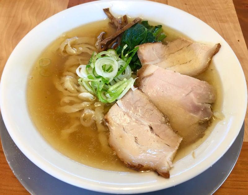 湯の台食堂 秋田県にかほ市象潟町 中華そば塩