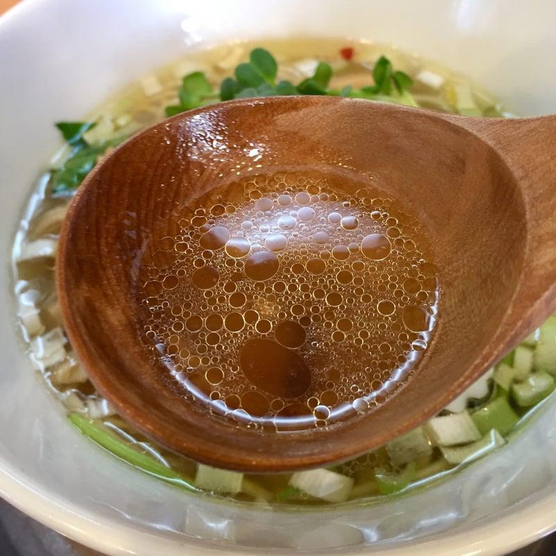 中華そばde小松 秋田県大仙市大曲丸の内 塩中華そば 塩ラーメン スープ