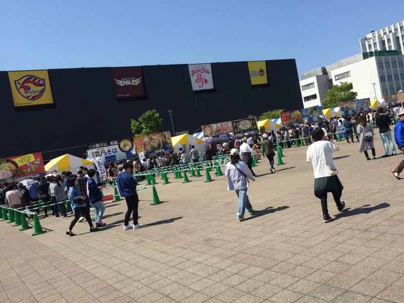 仙台ラーメンフェスタ2019 あすと長町 杜の広場公園