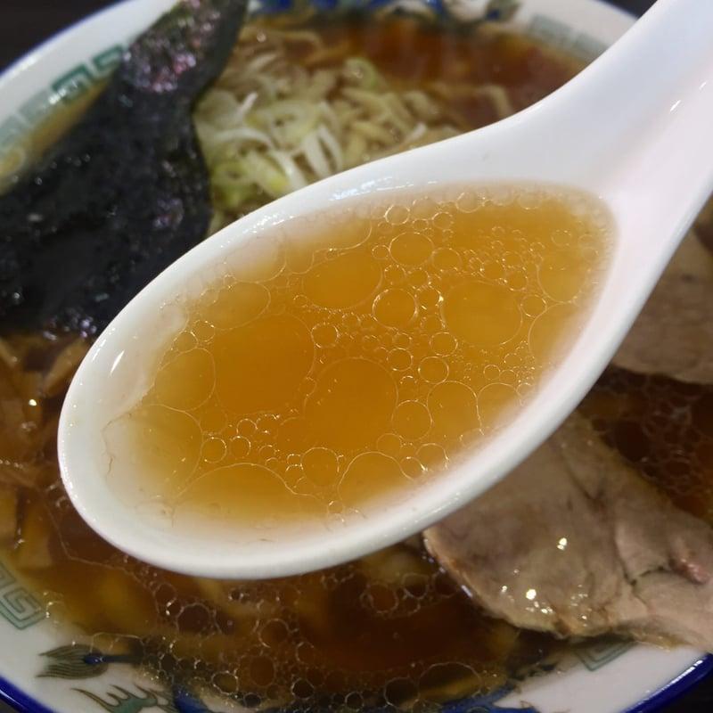 ケンちゃんラーメン 八戸店 青森県八戸市新井田 中華そば 小盛 スープ