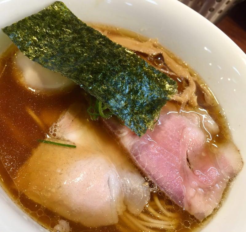 柳麺 多むら 外旭川店 秋田市外旭川 醤油らぁ麺 醤油ラーメン 具