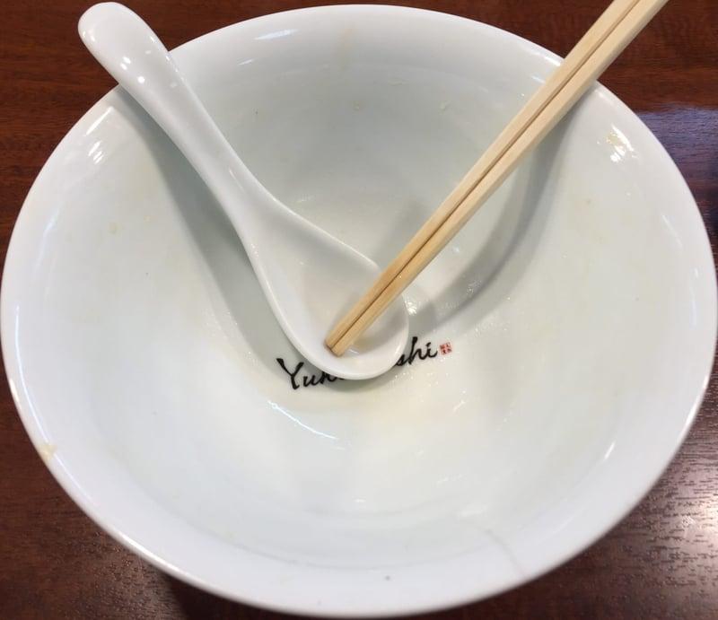 柳麺 多むら 外旭川店 秋田市外旭川 醤油らぁ麺 醤油ラーメン 完食