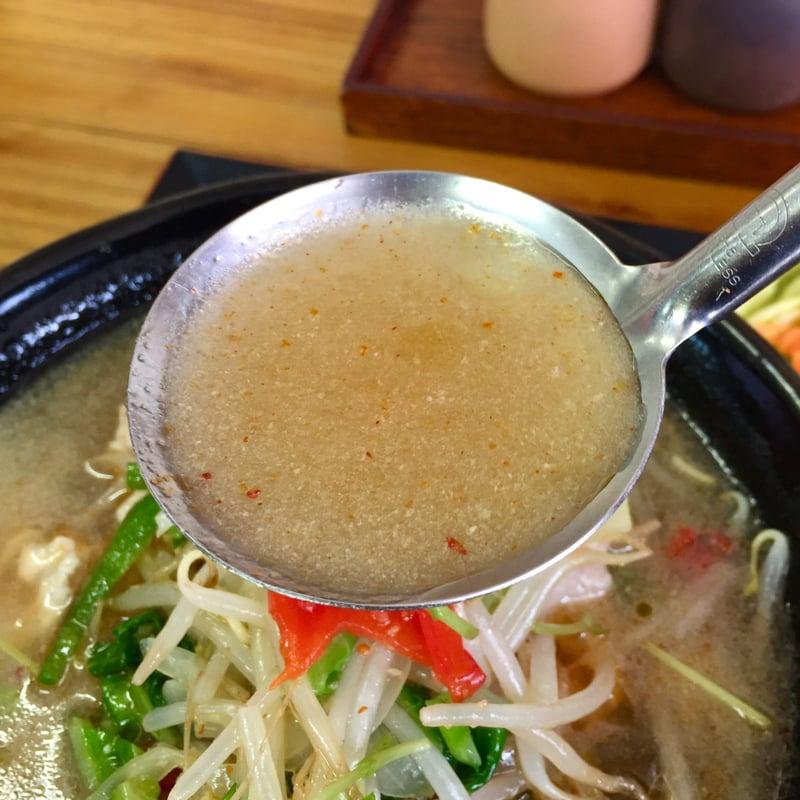 お食事処 じいじ亭 秋田県横手市寿町 冷たいスープ 冷た〜いラーメン サラダ付 スープ