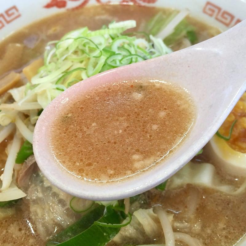 らーめん 琥珀亭 秋田県横手市安田 ご当地ラーメン 秋田ちゃんぽん ちゃんぽんめん みそ味 スープ