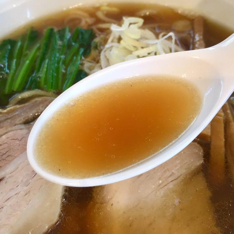 ラーメン ヒノデテイ 秋田県大仙市大曲 ラーメン(醤油) 醤油ラーメン スープ