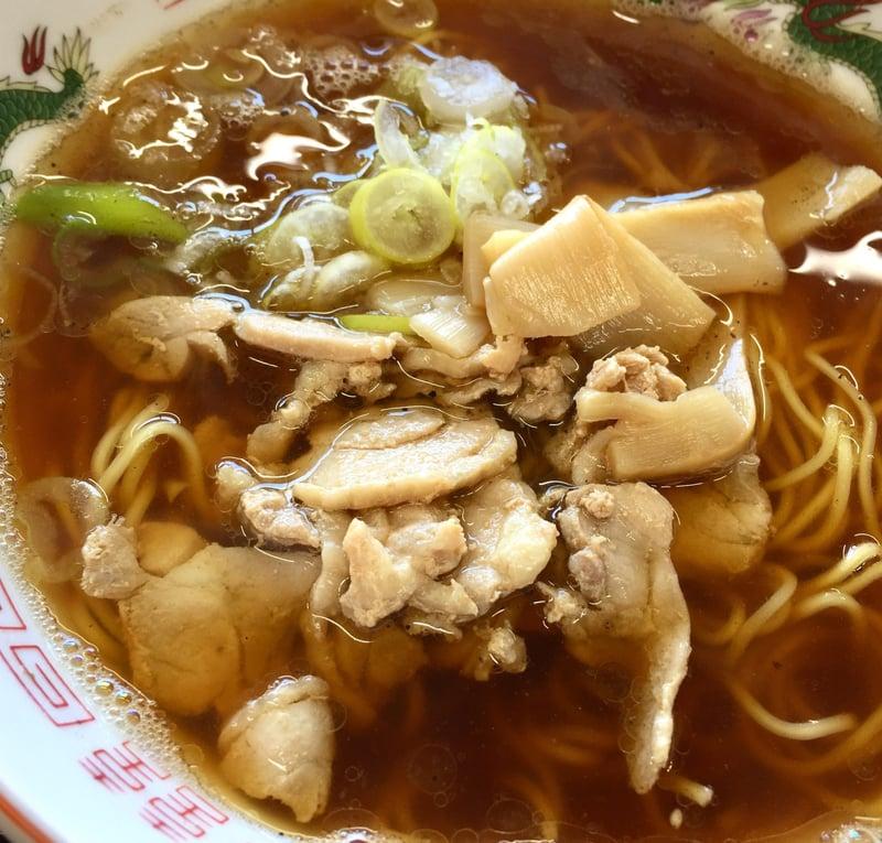 つけ蕎麦 佐とう 秋田県秋田市下新城中野 鶏中華しょうゆ味 具