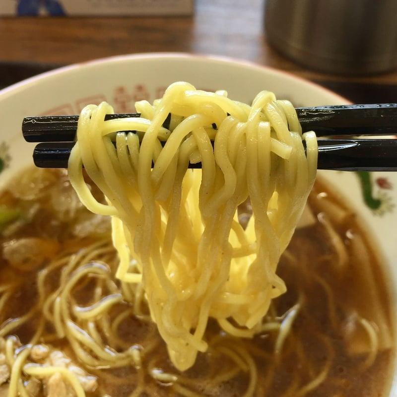 つけ蕎麦 佐とう 秋田県秋田市下新城中野 鶏中華しょうゆ味 麺