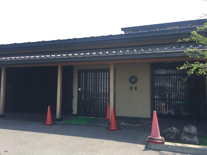 清吉そばや本店 秋田県由利本荘市上横町 外観