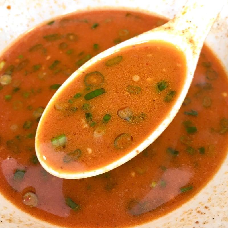 麺屋 満開 秋田県秋田市広面 泡系 担々麺 スープ
