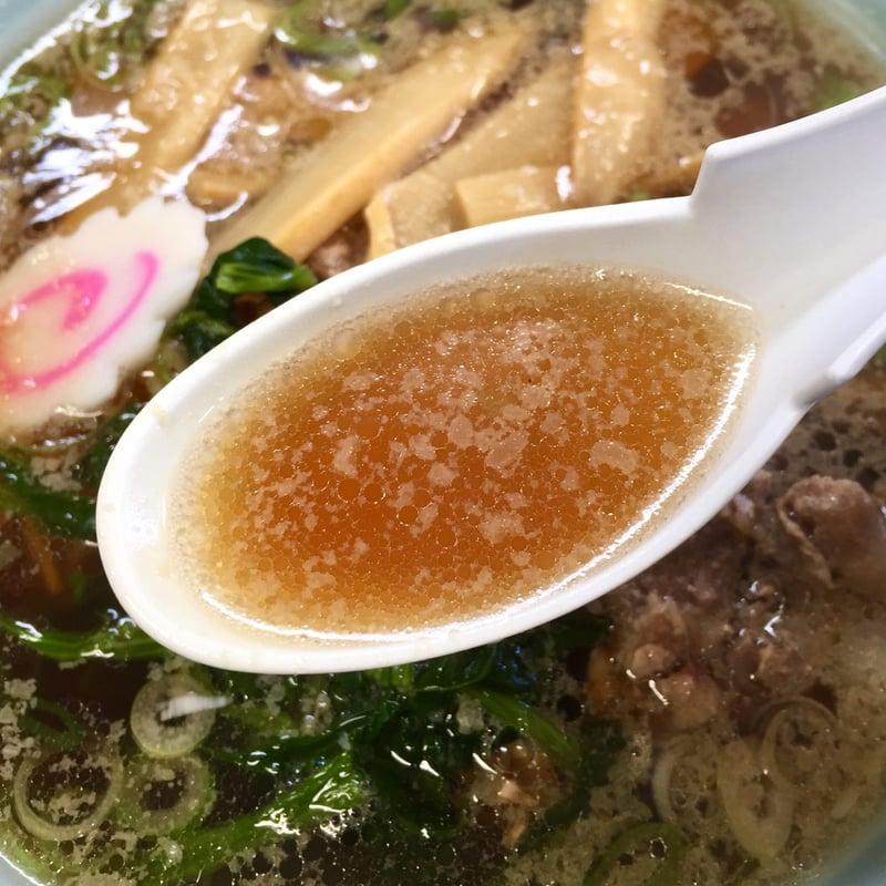 拉麺職人 満大 秋田県秋田市山王 鶏肉ラーメン ご当地ラーメン しない鶏ラーメン スープ