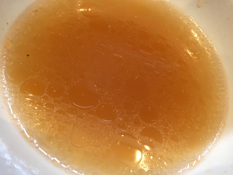 NOODLE SHOP KOUMITEI 香味亭 秋田県横手市婦気大堤 オマール海老香る淡麗つけ麺 塩 つけ汁 スープ