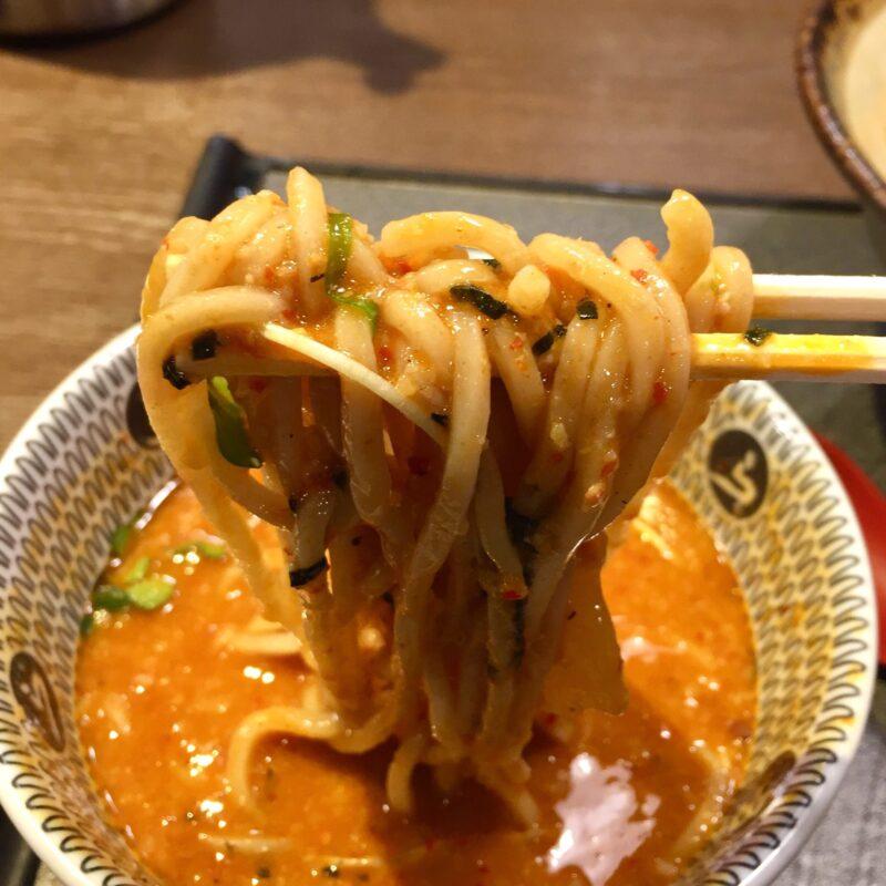 荒川らーめん魂 あしら 新潟県村上市切田 辛味噌つけめん 全粒粉つけめん 自家製麺