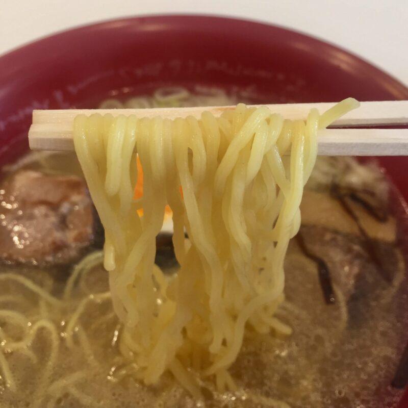 元祖一条流がんこ二代目 クレープBON 二代目がんこラーメン 福井県福井市順化 塩ラーメン 麺