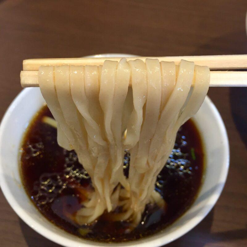 NOODLE SHOP KOUMITEI 香味亭 秋田県横手市婦気大堤 鶏の旨味香る淡麗つけ麺 昆布水バージョン 自家製麺
