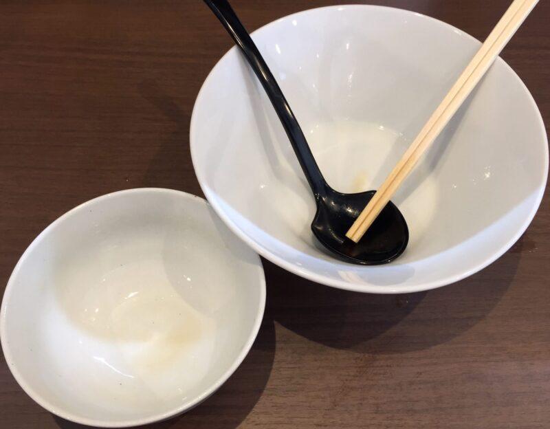NOODLE SHOP KOUMITEI 香味亭 秋田県横手市婦気大堤 鶏の旨味香る淡麗つけ麺 昆布水バージョン 完食