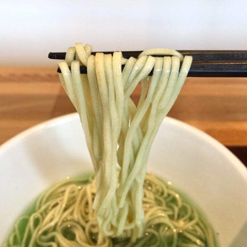 新旬屋本店 山形県新庄市沖の町 冷たい海の塩ラーメン Marine blue noodle マリーンブルーヌードル 麺