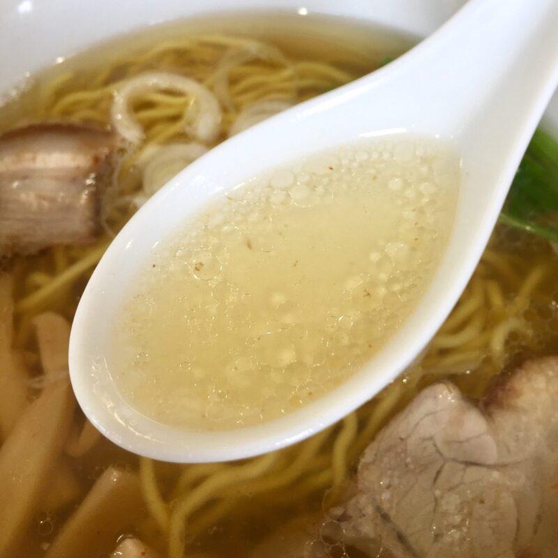 ぜんや 埼玉県新座市野火止 ぜんやラーメン 塩ラーメン スープ