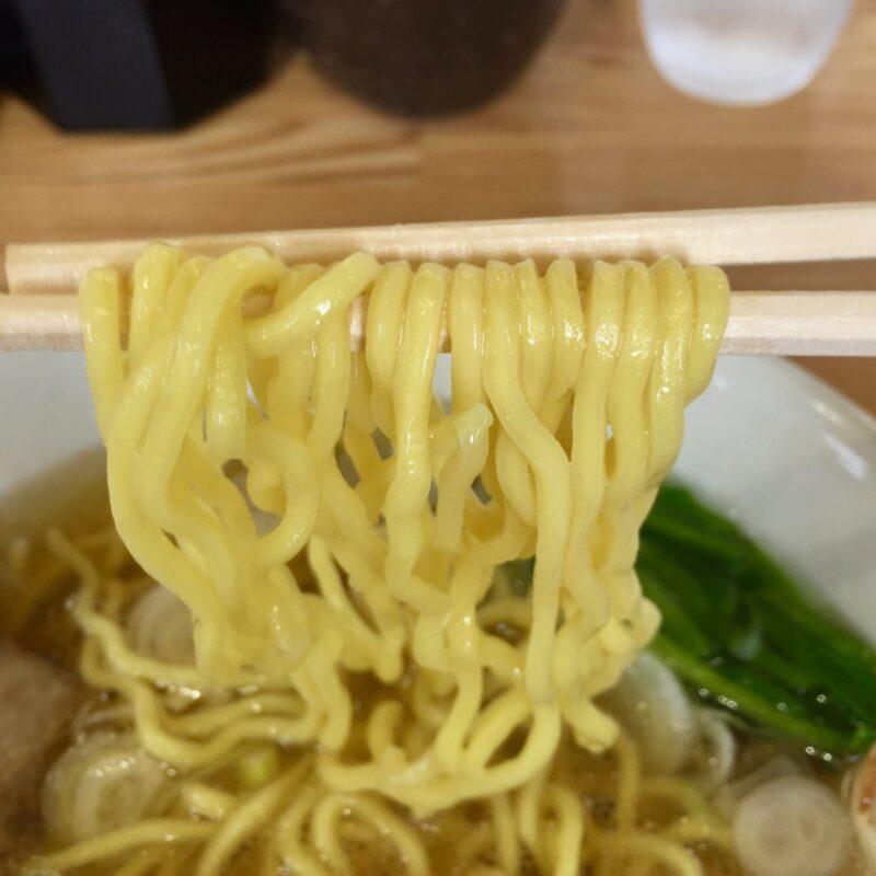 ぜんや 埼玉県新座市野火止 ぜんやラーメン 塩ラーメン 麺