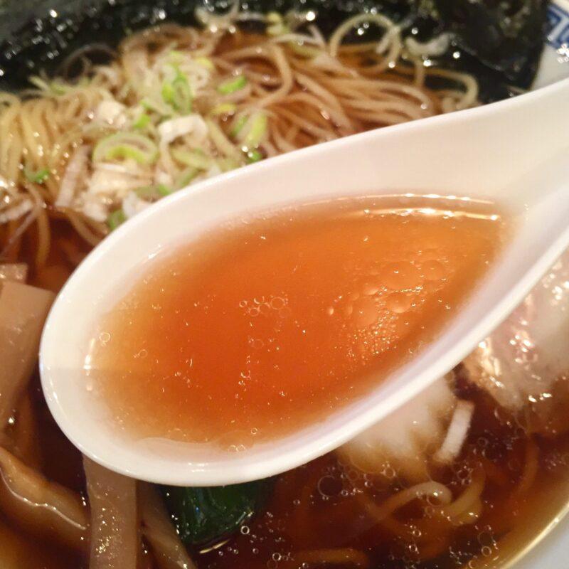 PUB RESTAURANT 田中屋 パブレストラン たなかや 秋田県仙北市角館町 懐かし昭和の味 醤油らーめん スープ
