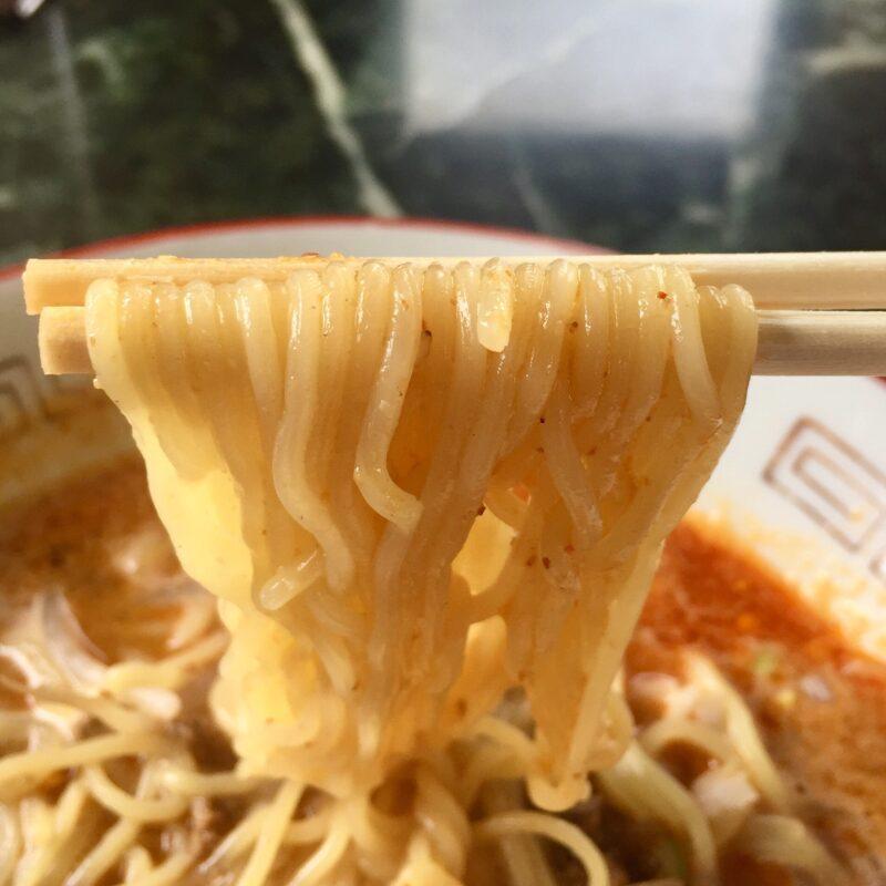 中国料理 太華味 たかみ 秋田県秋田市土崎港中央 タンタン麺 担々麺の麺
