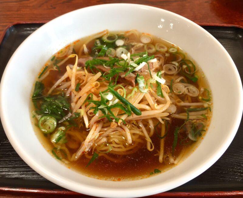 中華料理 一家 いちや 秋田県横手市十文字町 もやしラーメン
