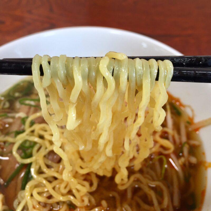 中華料理 一家 いちや 秋田県横手市十文字町 もやしラーメン 麺