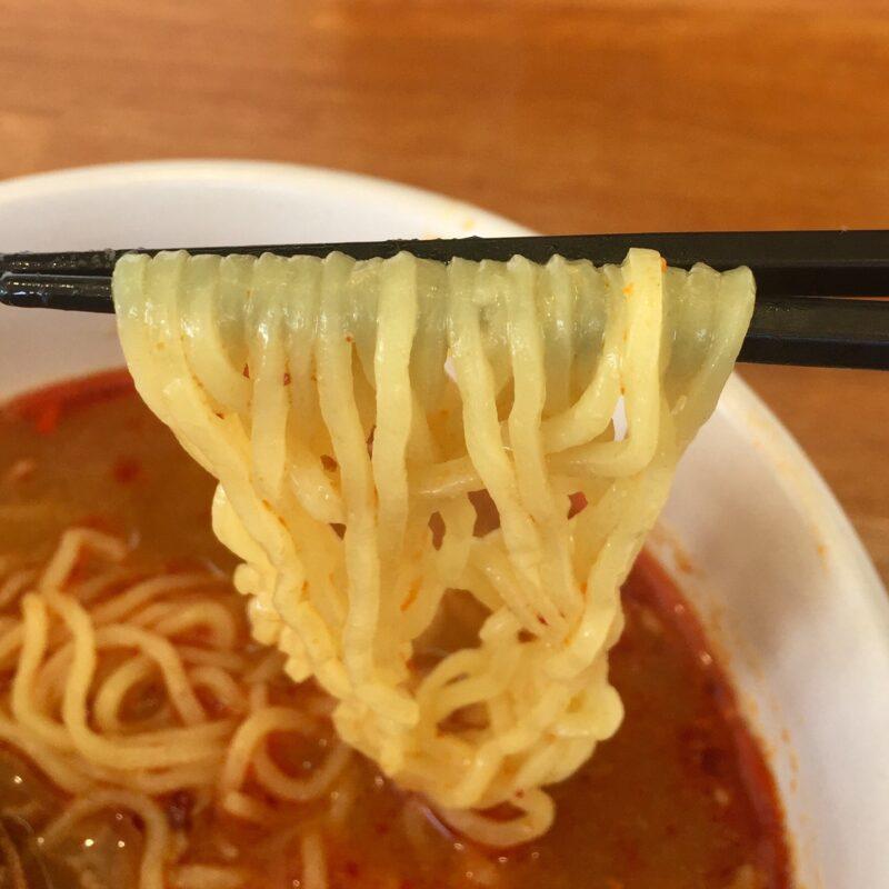中華料理 たかさん家 たかさんち 秋田県秋田市桜 担々麺の麺