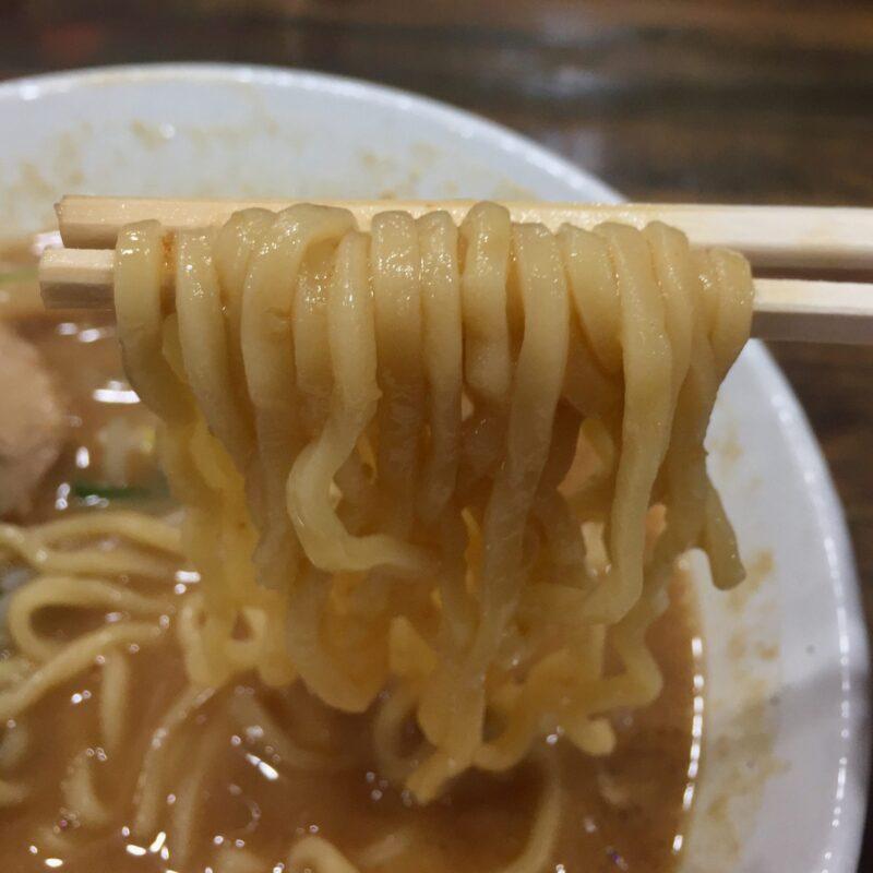 らーめん ともや 秋田県横手市四日町 牛豚鶏みそらーめん 味噌ラーメン 麺